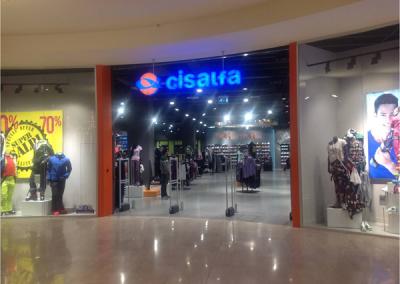 Cisalfa - negozio pilota, Busnago